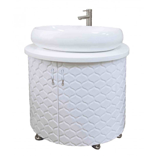 Тумба з умивальником для ванної Велес 0881