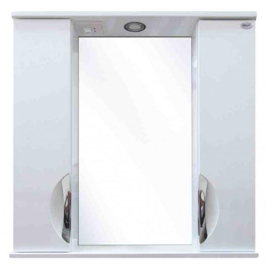 Дзеркальна шафа для ванної серії  Венеція Дз11-75
