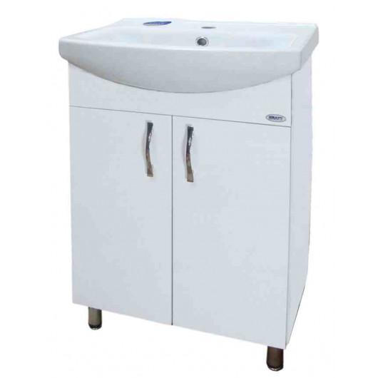 Тумба з умивальником для ванни серії Прима економ T1