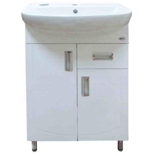 Тумба з умивальником для ванної серії Декор T3 Артеко60