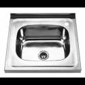 Накладна мийка без крила 5050 Q Декор