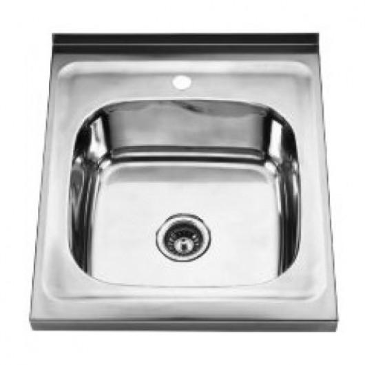 Накладна мийка без крила 5060Q Декор