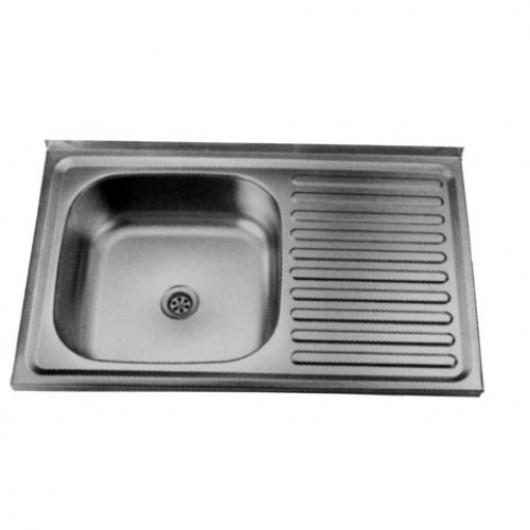 Накладна мийка з крилом 5080 L/R