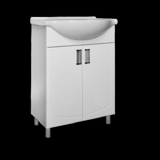 Тумба з умивальником для ванної кімнати  Декор Т1 Артеко55