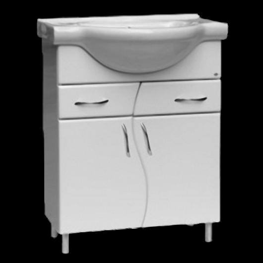 Тумбочка з раковиною для ванної серії Пріма Т5
