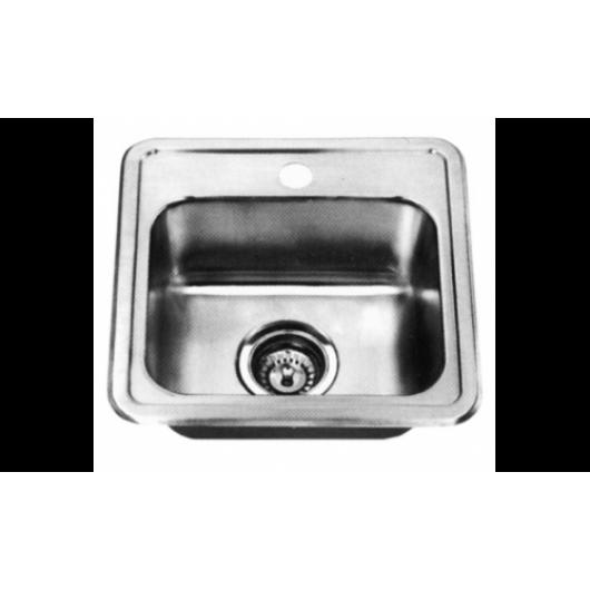 Врізна квадратна мийка без сушки 3838