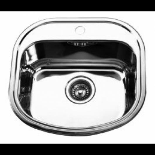 Врізна прямокутна мийка без крила 4947