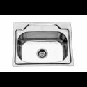 Врізна прямокутна мийка без сушки 5545