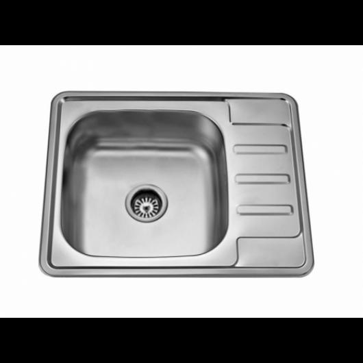 Врізна прямокутна мийка із сушкою 6350