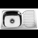 Врізна прямокутна мийка з сушкою 302 AF Декор