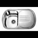 Врізна прямокутна мийка з крилом 7749 AL