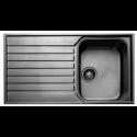 Врізна прямокутна мийка з крилом 8050 A