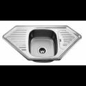 Врізна кутова мийка з сушкою 9550 A полірована